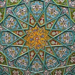 Persian Architecture and Mosaic Designs